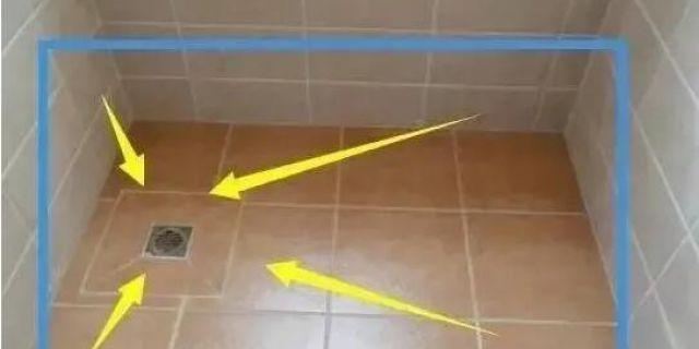 居家裝修,地漏排水要低于地面!