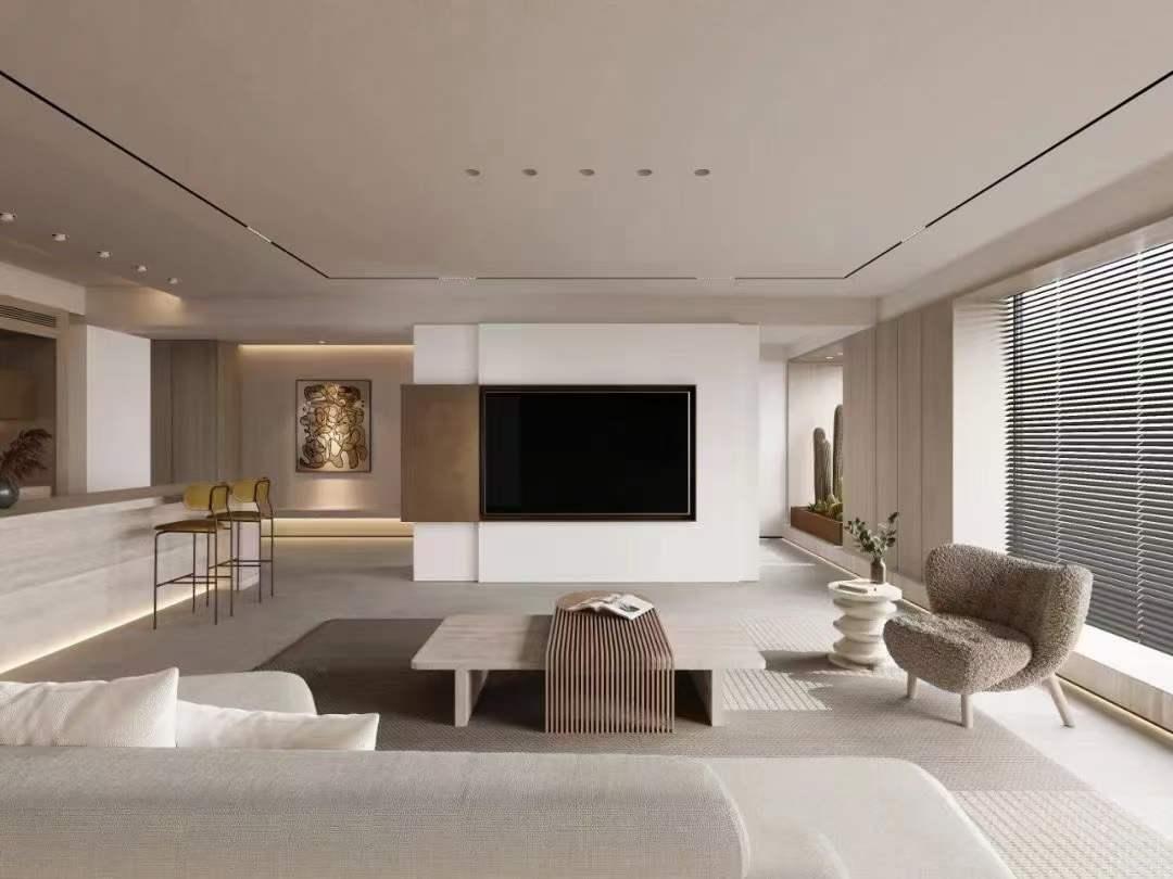 鼓樓區天空之城九公寓裝修  北歐風充滿生活氣息